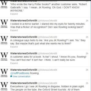 Image: Excerpt from @Waterstones Twitter feed