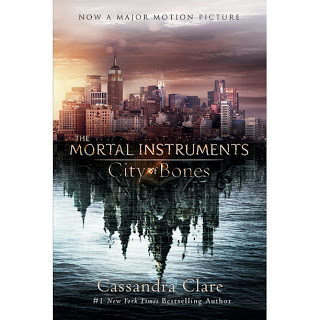 cover image, Mortal Instruments: City of Bones, by Cassandra Clare, movie tie-in cover