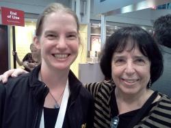 Photo of Jane Yolen and Elizabeth Willse