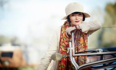 Photo of Essie Davis as Phryne Fisher in Miss Fisher's Murder Mysteries