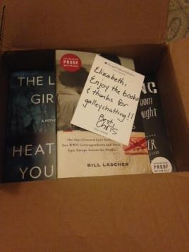 image of box of books