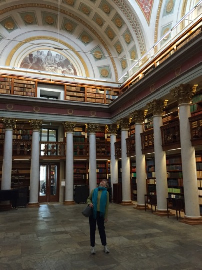 image of the interior of the National Library of Finland
