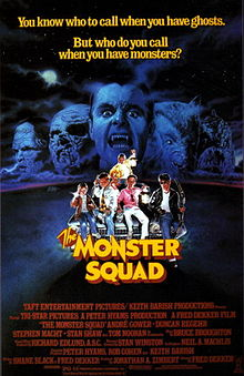 Movie Poster for The Monster Squad movie