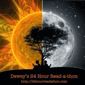 logo for Dewey's 24 Hour Readathon