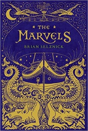 Cover image, Marvels by Brian Selznick
