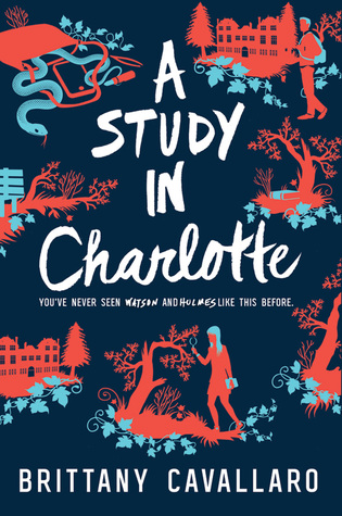 Cover image, A Study in Charlotte by Brittany Cavallaro
