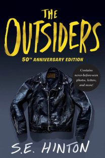 Cover image, The Outsiders by S.E. Hinton